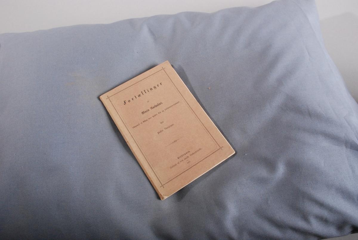 To fortellinger av Marie Nathusius, med kort biografi av pastor Storjohan bakerst.