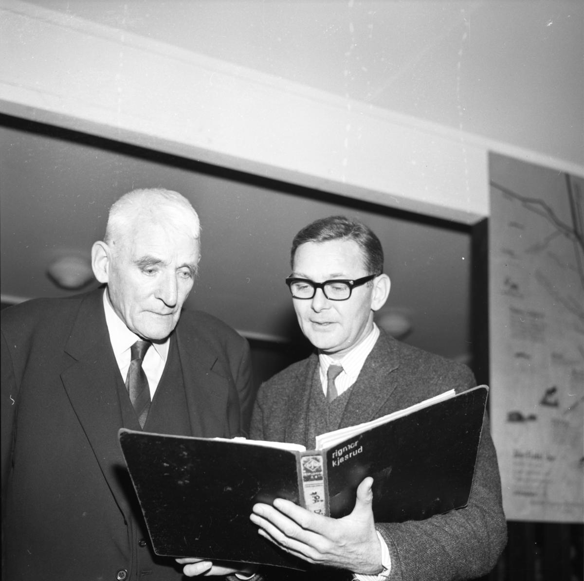 Berger Messelt og Odd Grythe