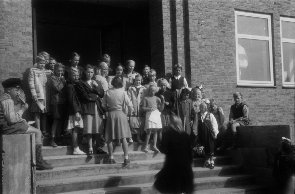 Nye Folkvang skole. Fra åpningen.