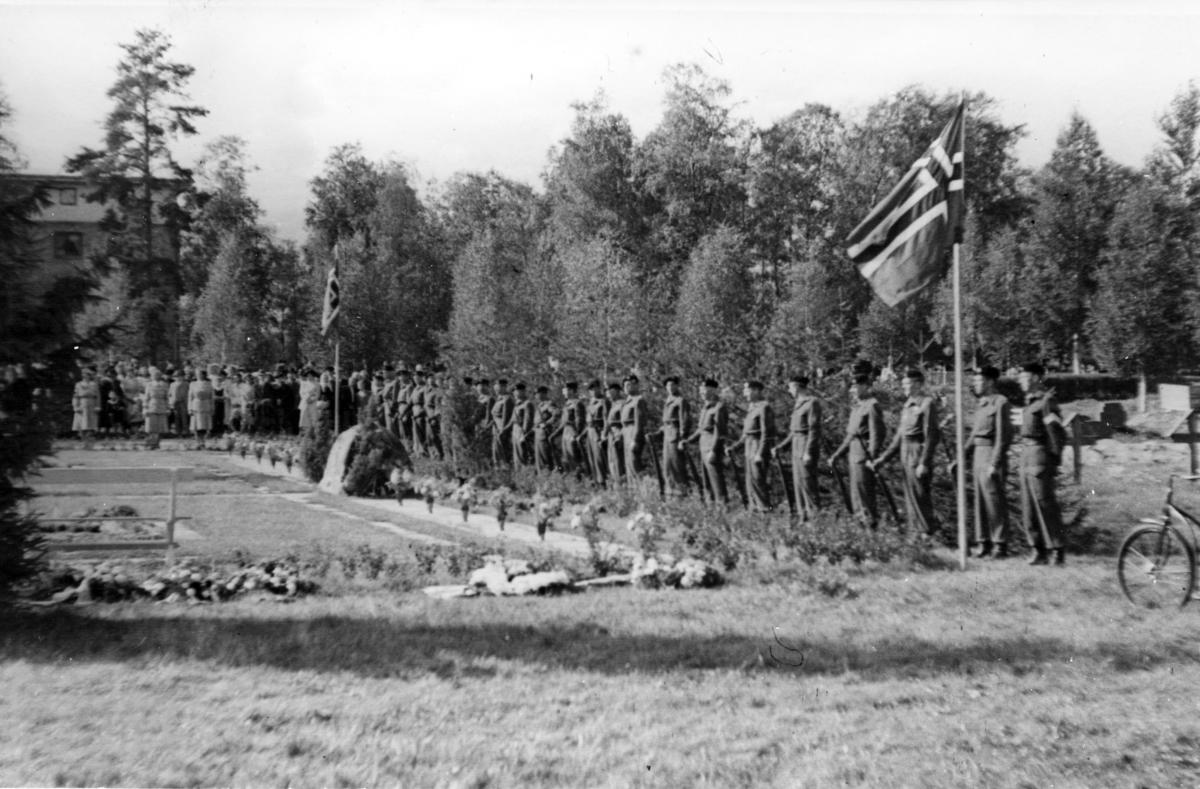 Minneseremoni, militære