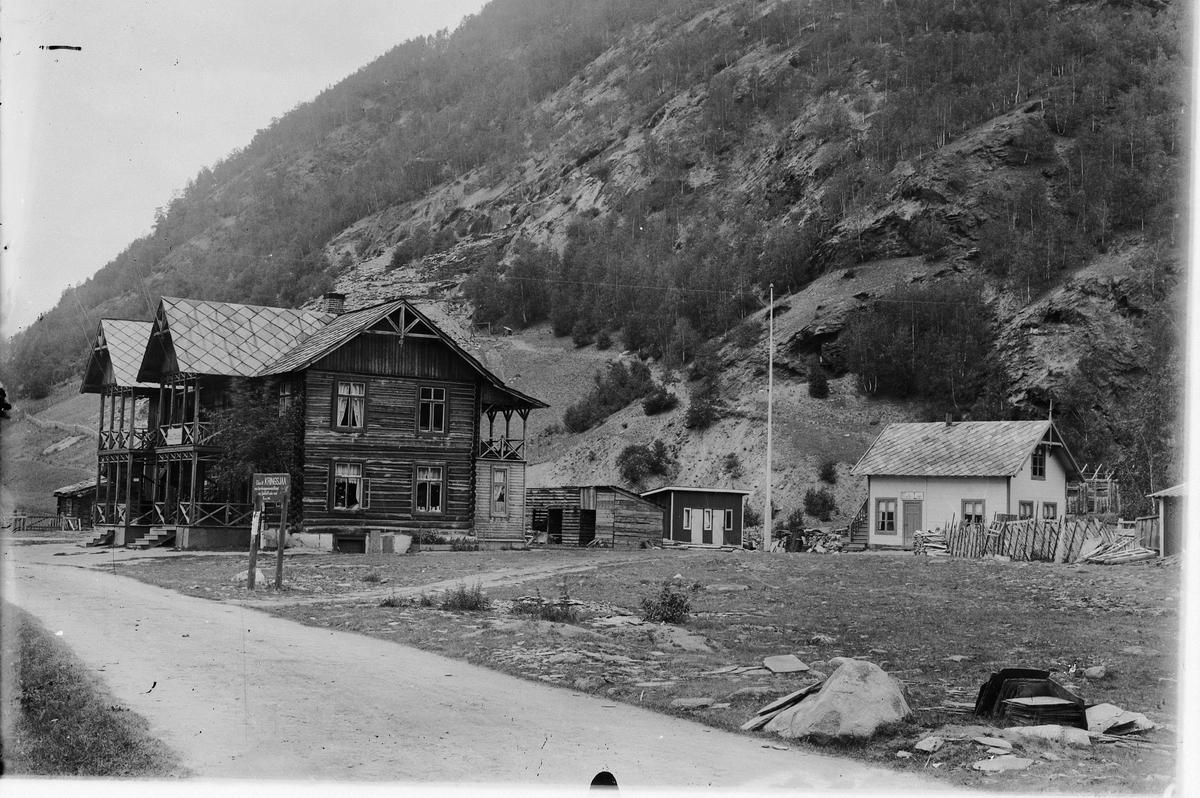 Ottekren i Sel, Gudbrandsdalen. Kafe&Logi, Ca. 1894.
