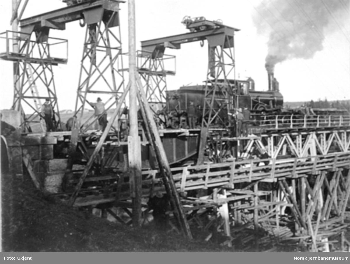 Ombygging av Hobøl viadukt; utskifting av 6. spenn, bilde 7