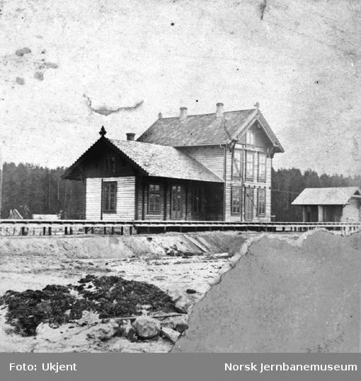 Hokksund stasjonsbygning