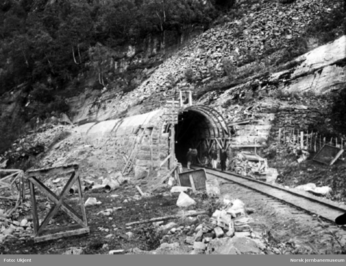Overmuringsarbeider ved Kløftefjell tunnel