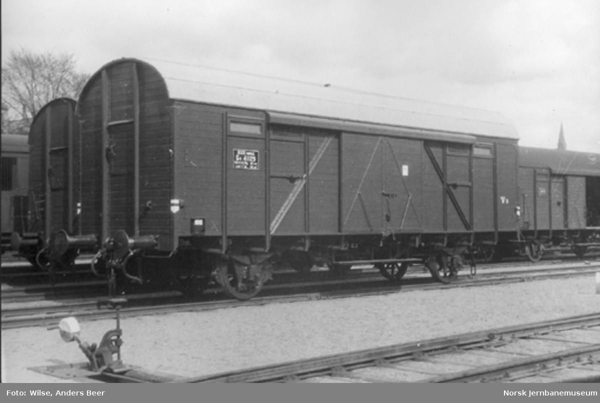 Lukket godsvogn litra G4 nr. 41129