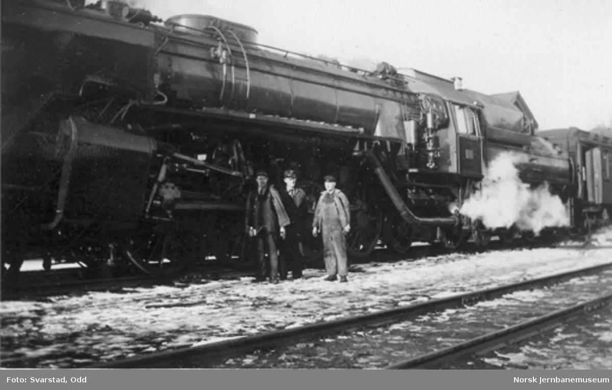 NSB damplokomotiv type 49a nr. 464 som nytt