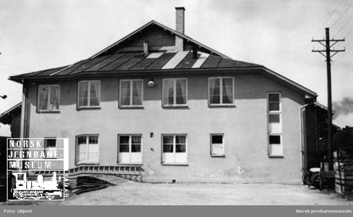 Hamar godshus : nytt tilbygg med velferdsrom ferdig høsten 1949