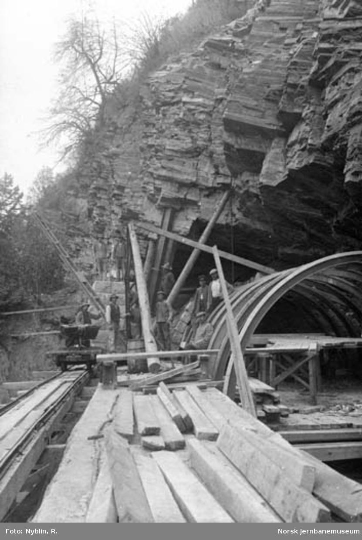 Skienstunnelen : søndre innslag