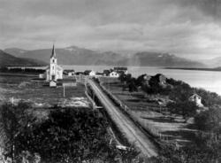 Bebyggelse og landskap rundt Tana kirke, 453, Tana, Finnmark