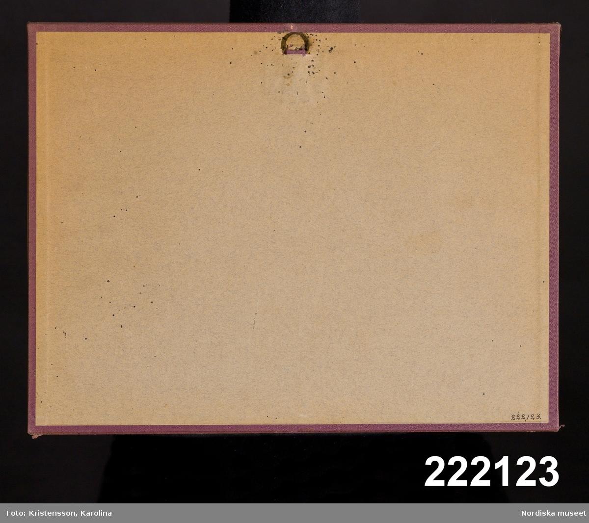 Tillverkaruppgift enligt katalogkort. /Annika Tyrfelt 2007-05-21