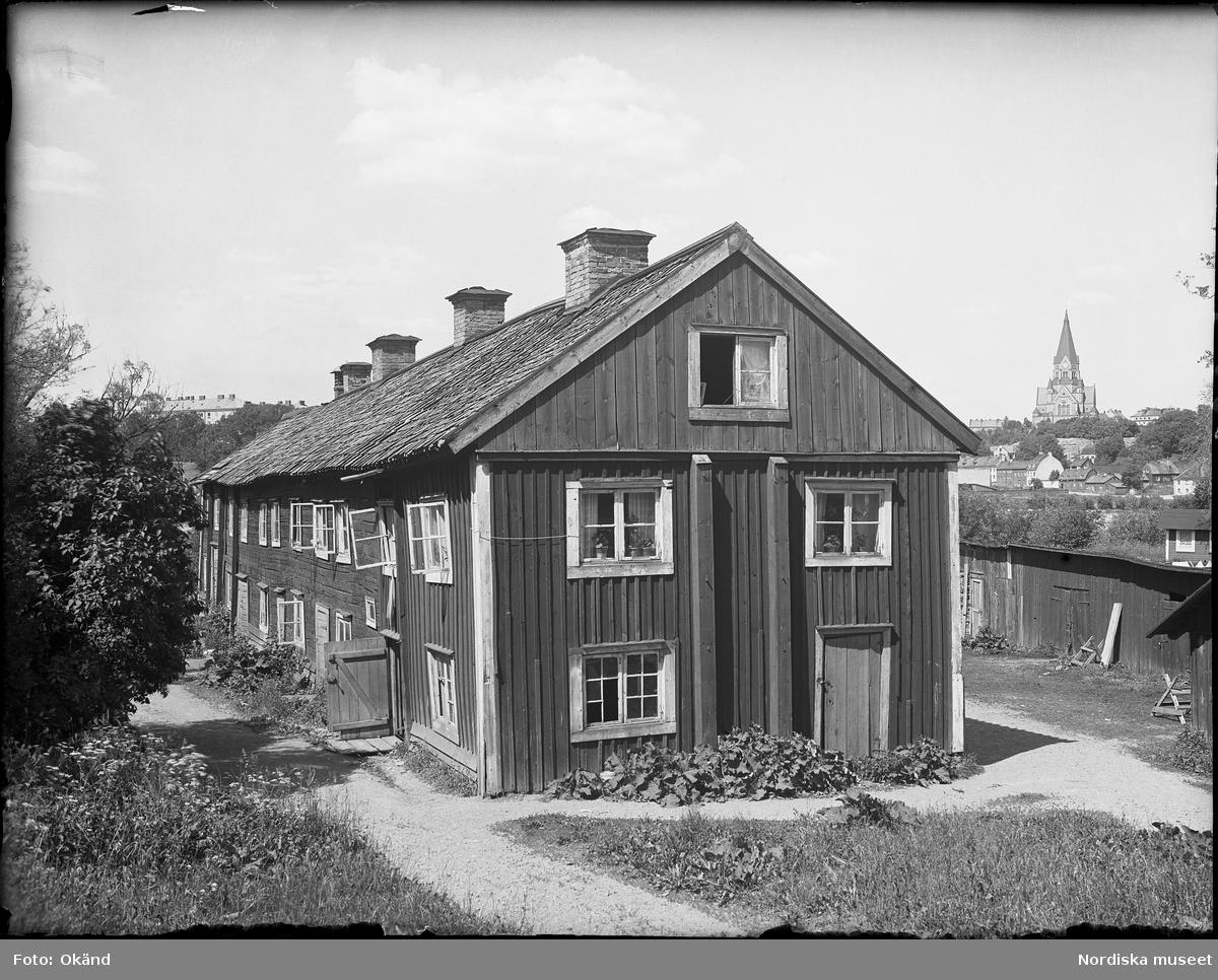 Statarlänga, Hammarby gård, Stockholm.