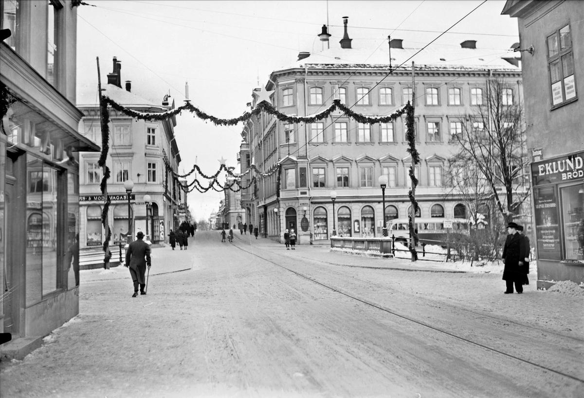 Juldekorationer på Drottninggatan, Uppsala
