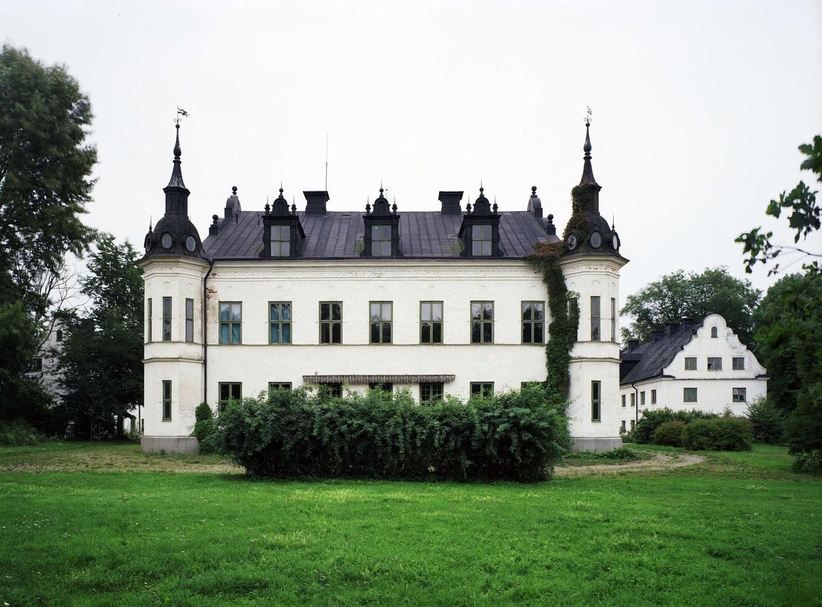Ekholmens slott, huvudbyggnaden, Veckholms socken, Uppland 1994