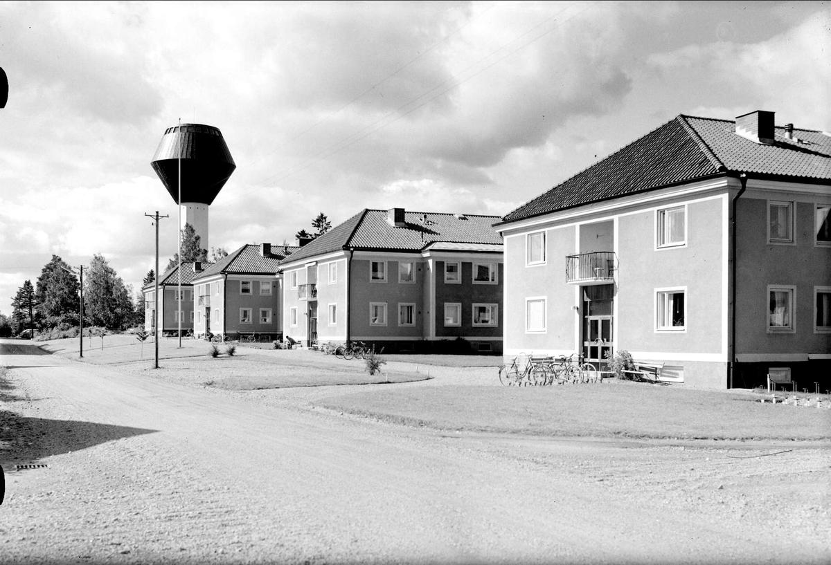 Flygfoto ver Skutskr, lvkarleby socken, Uppland 1958