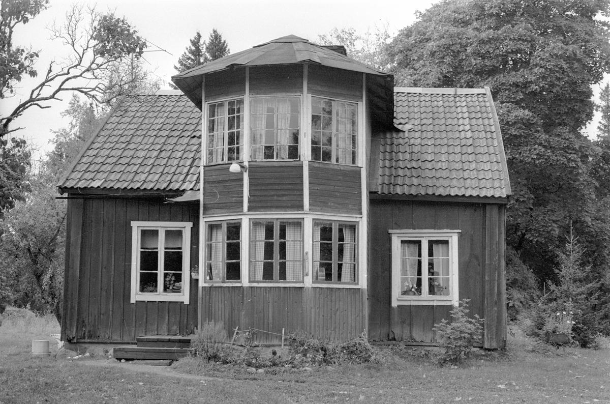 Mangårdsbyggnad, Hånsta 3:2, Hånsta, Lena socken, Uppland 1978