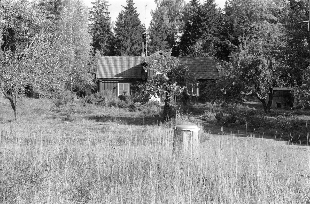 Parstuga, Strömhagen, Lena socken, Uppland 1978