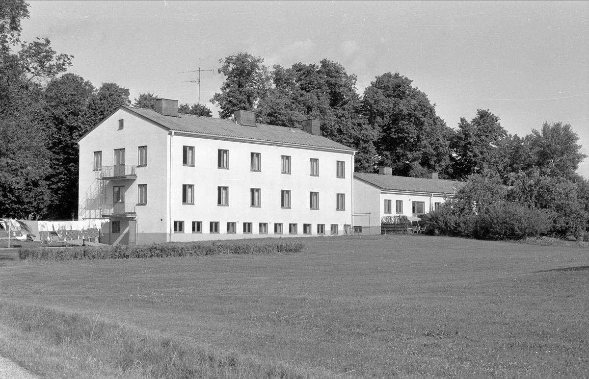 Bostadshus, Bärby yrkesskola, Broby, Funbo socken, Uppland 1982