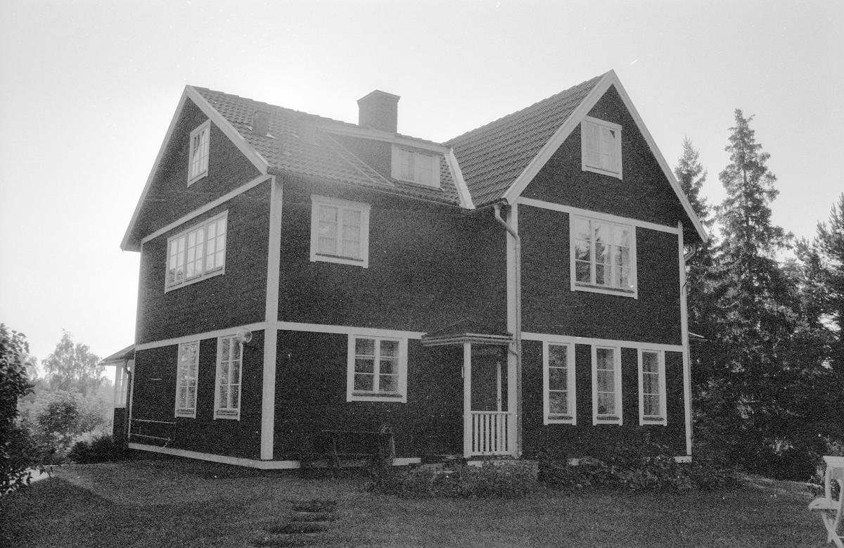 Bostadshus, Solhaga, Marielund, Funbo socken, Uppland 1982