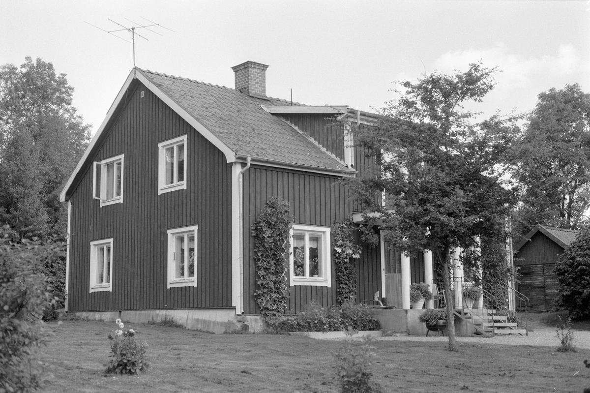 Bostadshus, Rickeby 3:3, Rickeby, Knutby socken, Uppland 1987