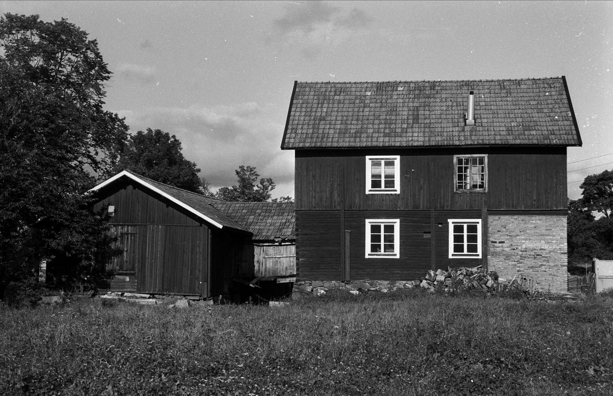 Såghus och kvarnhus, Torslunds såg, Almunge socken, Uppland 1987
