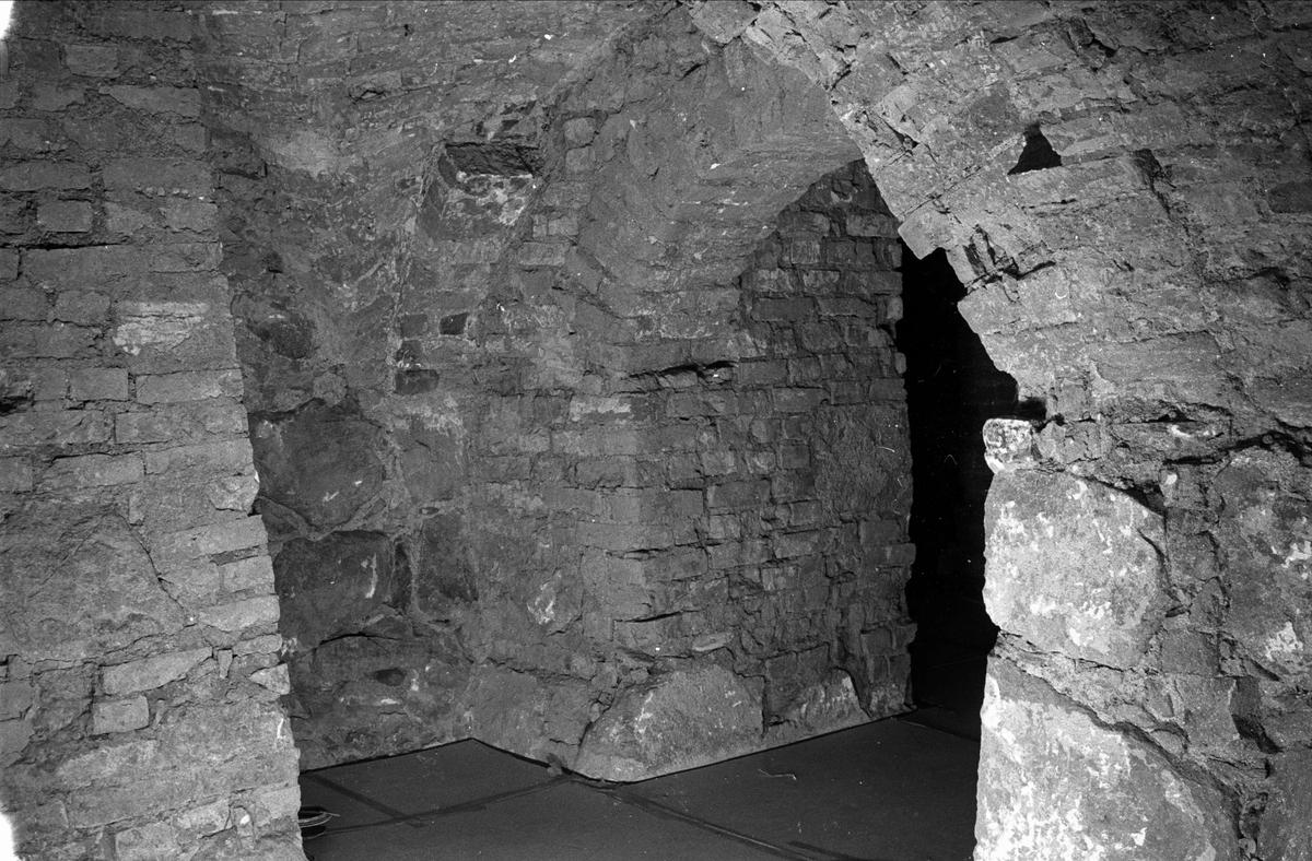 Portvalv i Biskopskökets källare på Biskops-Arnö, Övergrans socken, Uppland