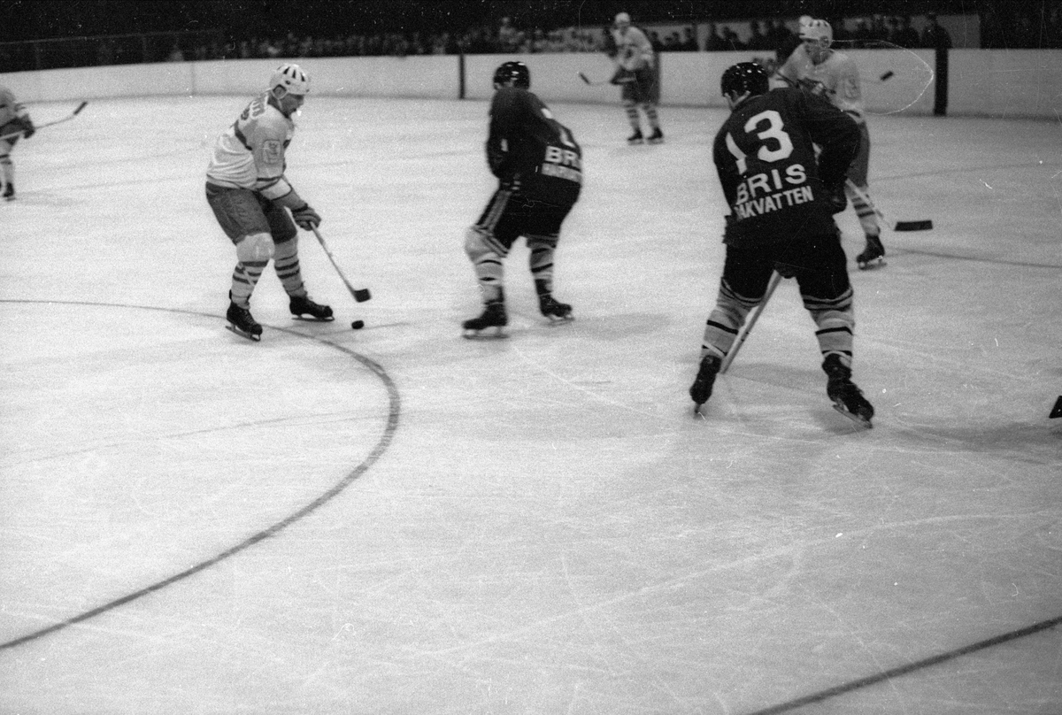 Ishockeymatch mellan Almtuna IS och Brynäs IF, Uppsala november 1962