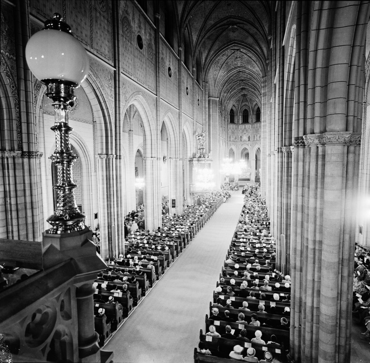 Dag Hammarskjöld, UD:s pressavdelning i Uppala domkyrka, 22 september 1961