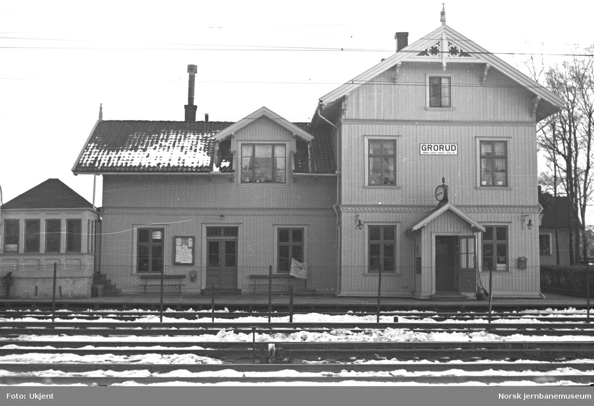 Grorud stasjonsbygning