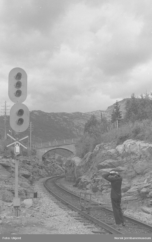 Dalselv stasjon : innkjørhovedsignal A
