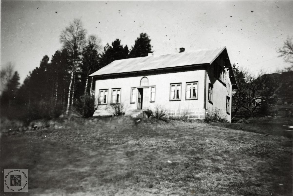 Bolighus Jota, Håland i Grindheim senere Audnedal.