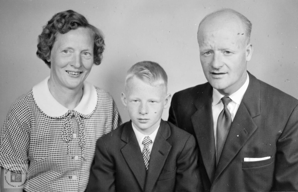 Familien Bransdal.