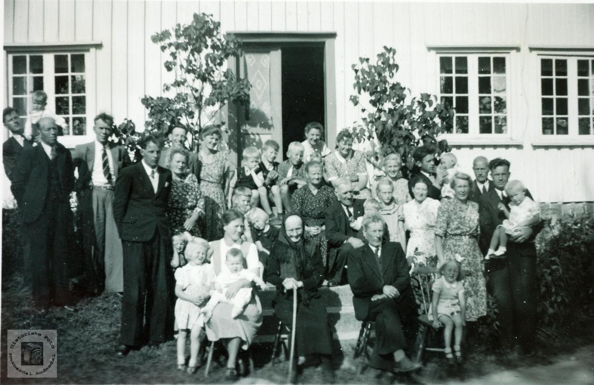 Slektstevne på Tryland i Vigmostad.