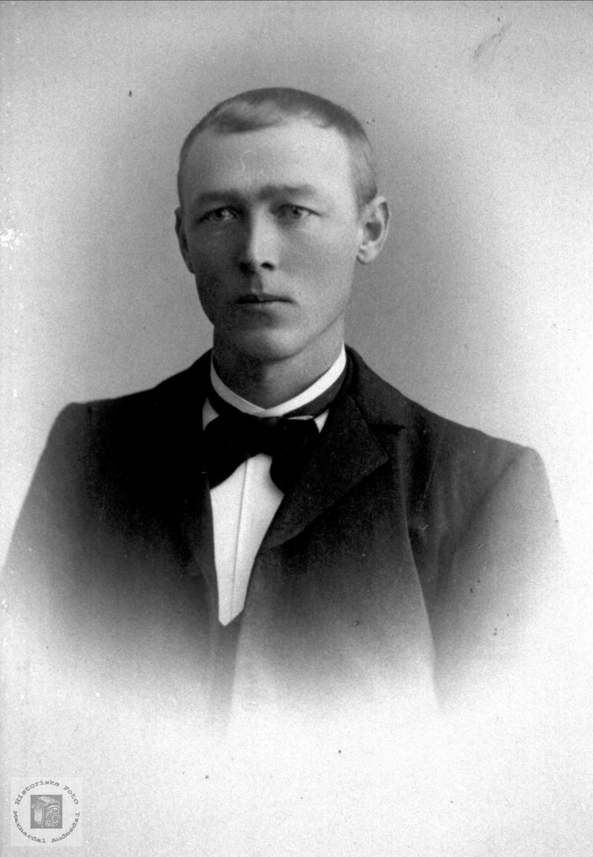 Portrett av Nils Haugland, Bjelland.