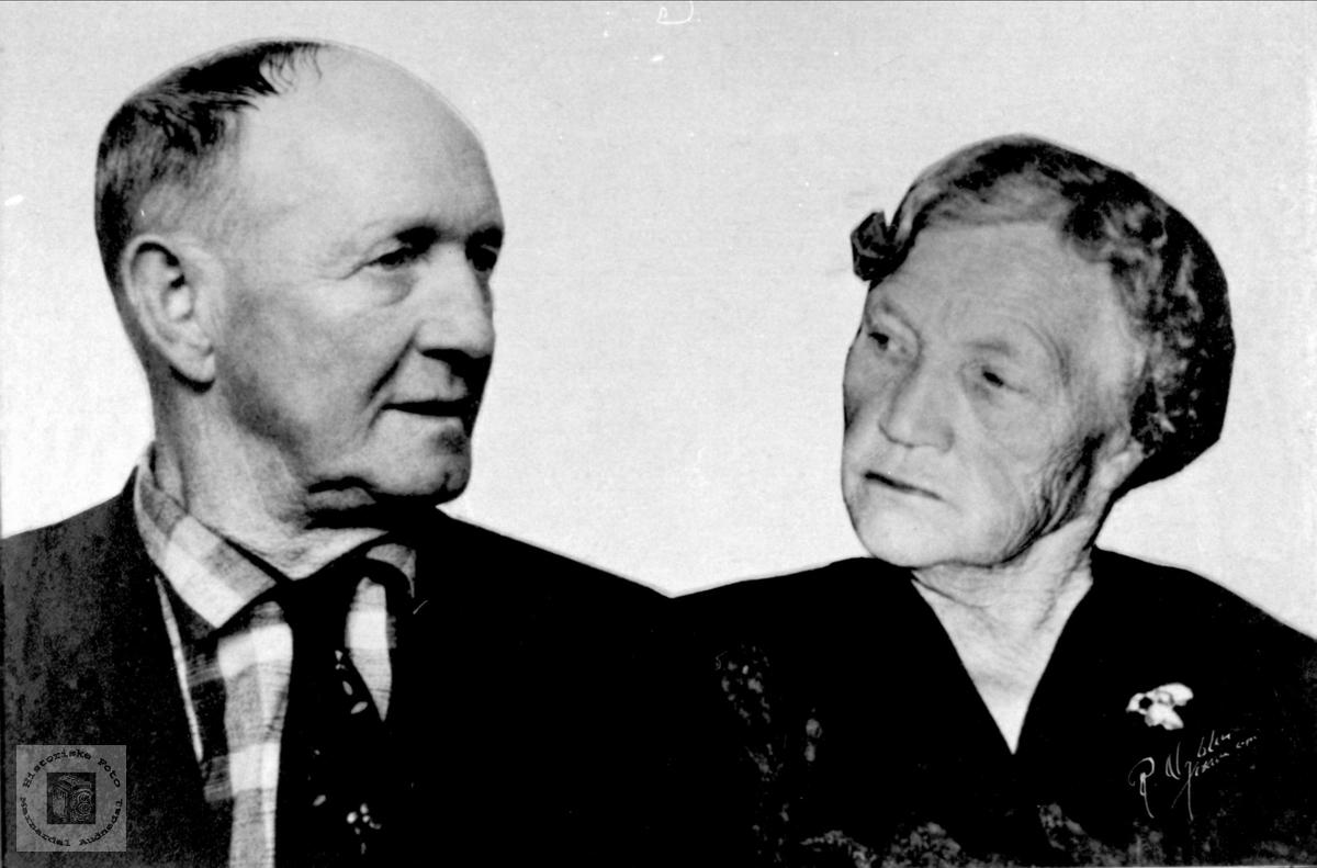 Ekteparet Torvald og Kjersti Fiskodde