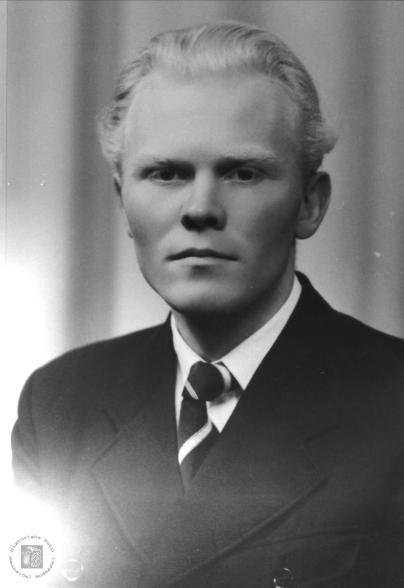 Portrett av Olav Finsdal, Øyslebø.