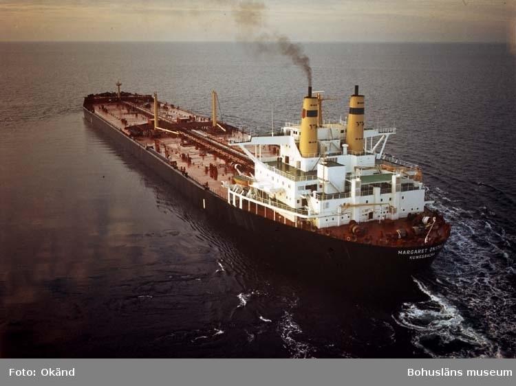 T/T Margaret Onstad D.W.T. 233.000 Rederi AB Monacus, Kungsbacka Kölsträckning 73-12-21 Nr. 283 Leverans 74-11-08 Tankfartyg