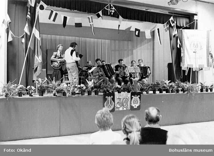 Sångkörens 30-års jubileum.