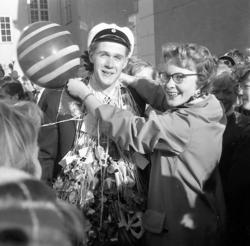 Studenter i Uddevalla 1956.