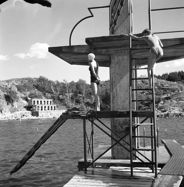Baddag i Skeppsviken