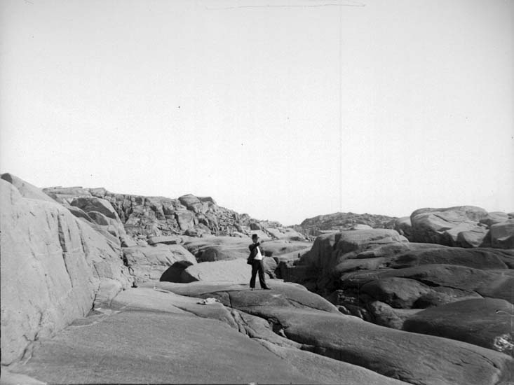"""Enligt text som medföljde bilden: """"Engelbert vid Stångehufud 20/5 1900""""."""