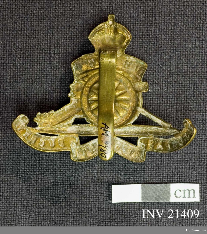 Grupp C I. För officer vid Royal Canadian Horse Artillery, Kanada.