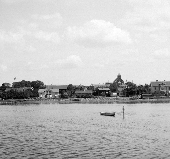 (Stereo karta XVI) Stenungsund. 11 Juli 1926.