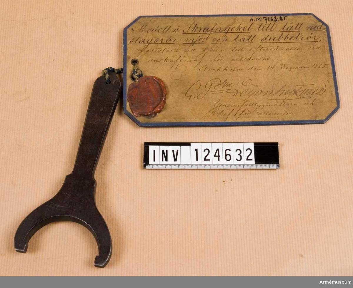 Skruvnyckel m/1885