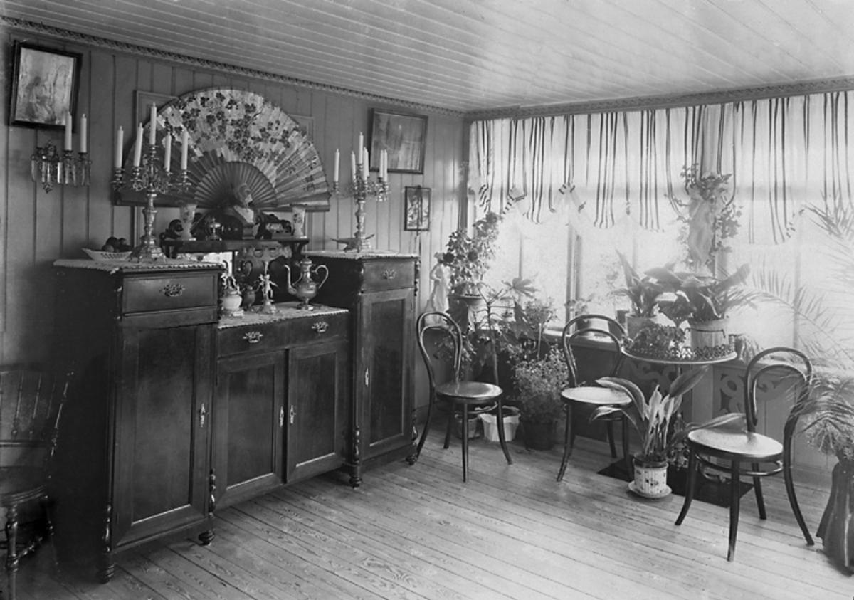 Fröken Hildur Berndtssons Modehandel, Ljungskile, 1904.