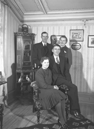 """Gamla pensionatet, Ljungskile 26 december 1941"""