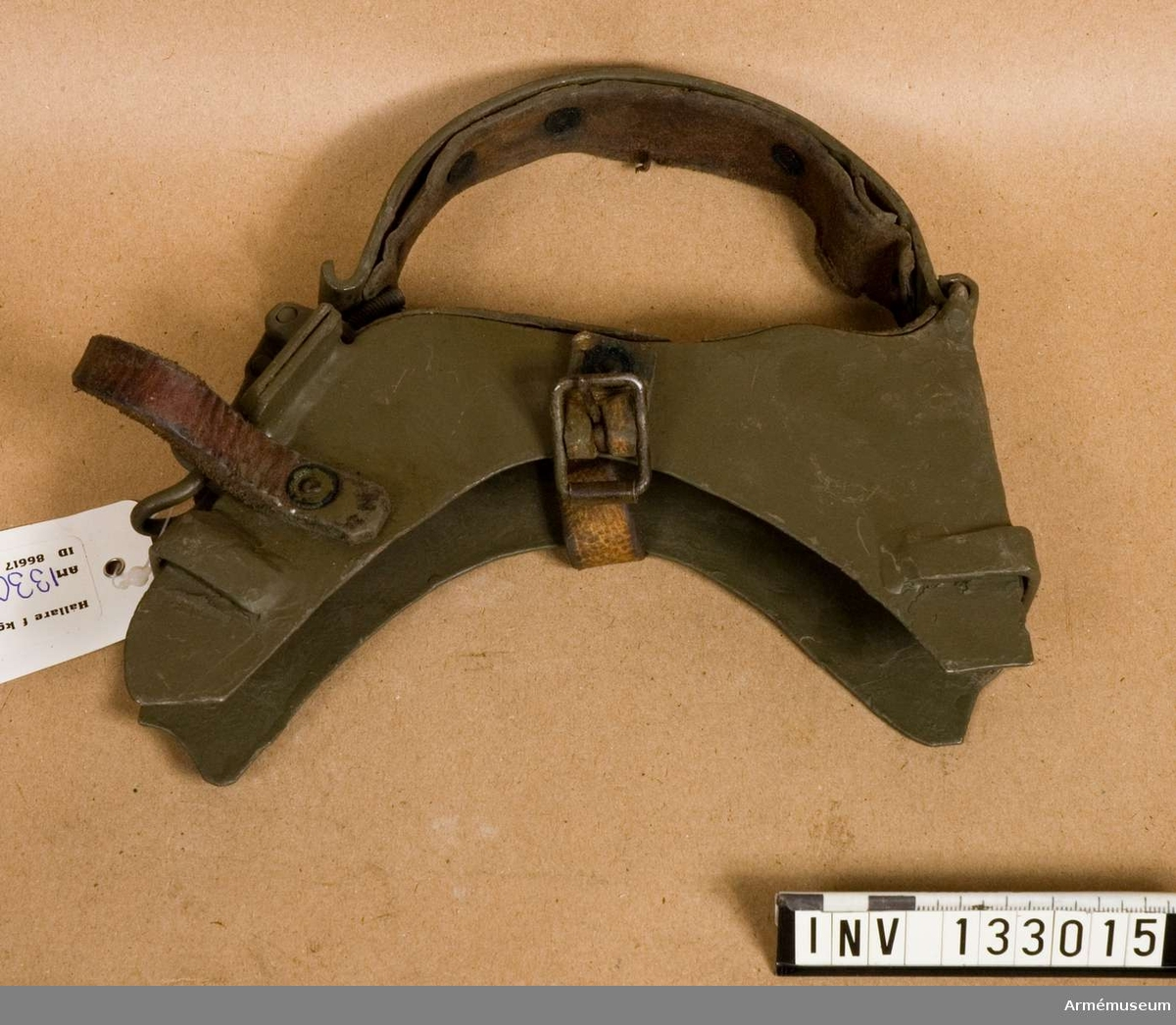 Hållare för kulsprutegevär