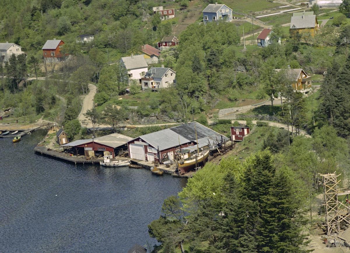 Varbergveien, Welles båtbyggeri
