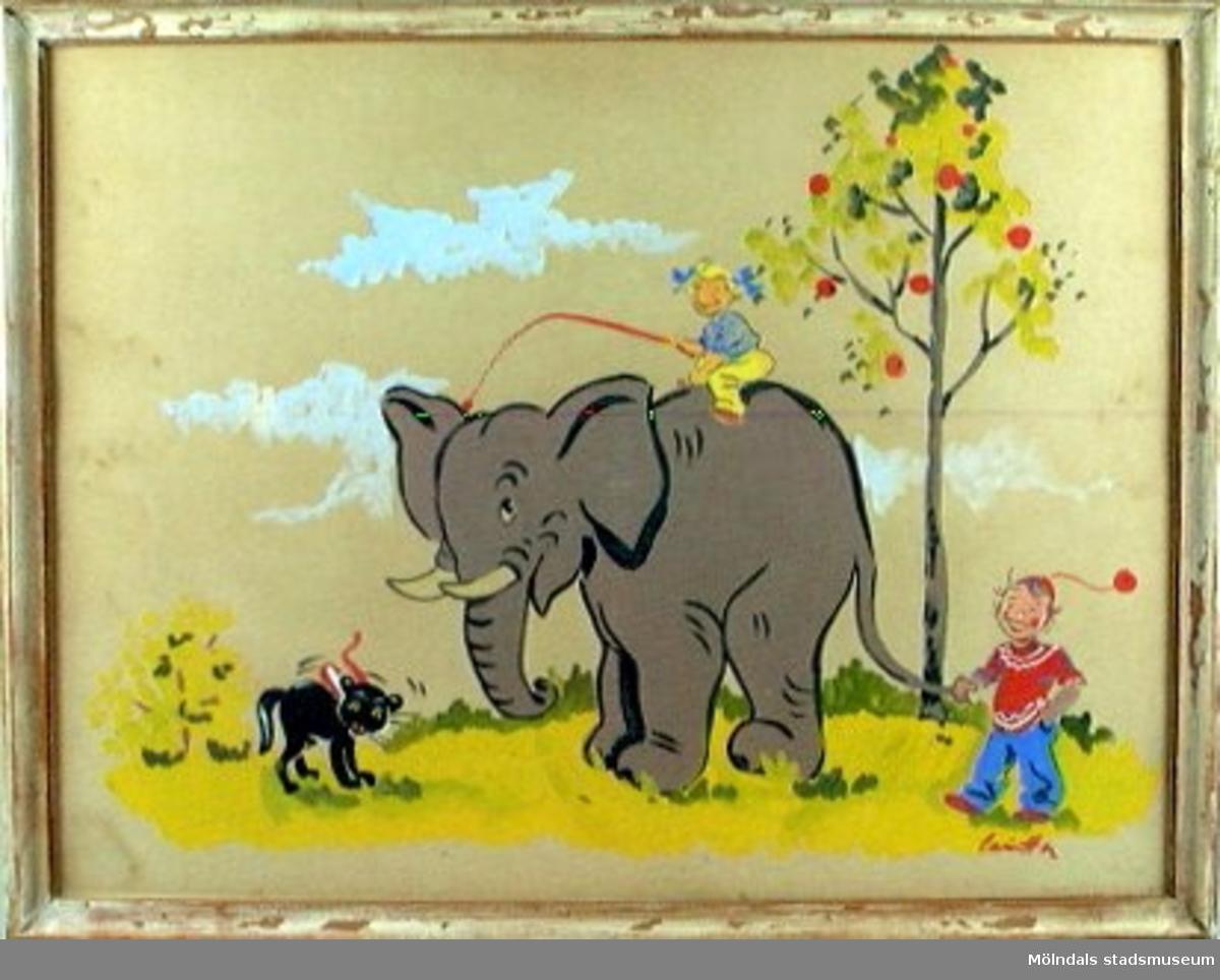 Tavla. Elefant.