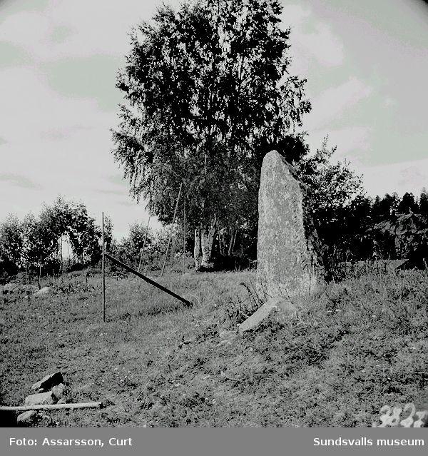 Runstenen i Berga by, Njurunda.