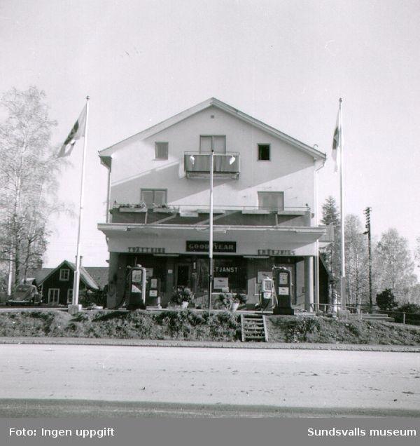 BP:s bensinstation i Ånge.